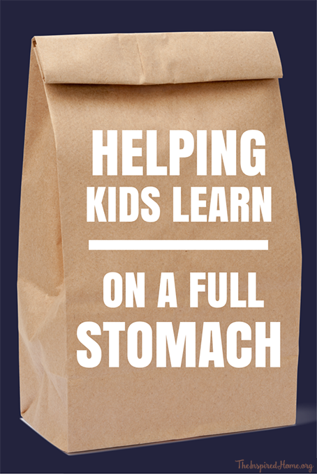 Helping Kids Learn Better on a Full Stomach