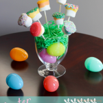 TheInspiredHome.org // Dipped Marshmallows make a delicious Easter treat or anytime treat! These can be adapted easily to any occasion. They are also a great way to get your kids in the kitchen.