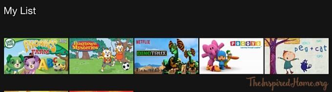Netflix-mylist