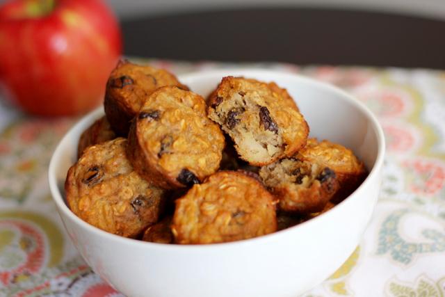 apple yogurt oatmeal muffins - 13