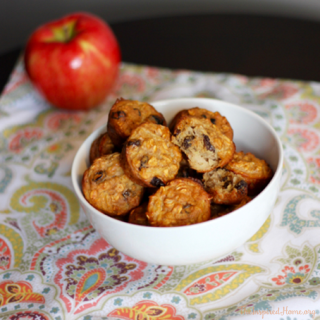 Greek Yogurt, Apple & Oat Toddler Mini Muffins