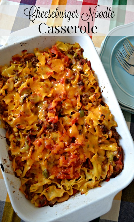 An easy weekday Cheeseburger Casserole