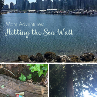 Mom Adventures: Hitting the Sea Wall