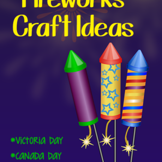 Firework Crafts {Victoria Day, Canada Day, Memorial Day, 4th of July}