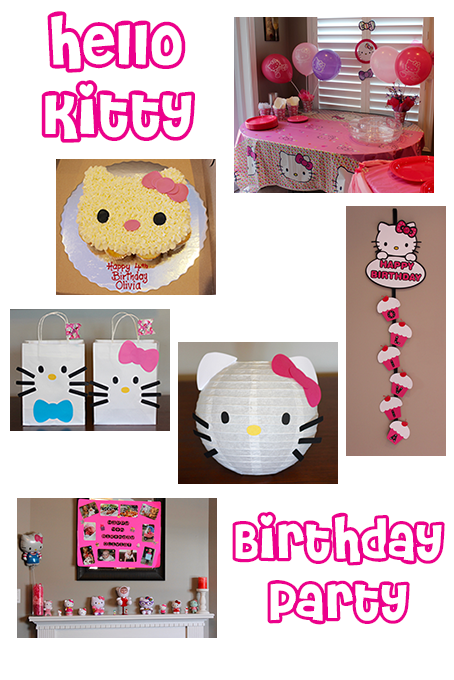 TheInspiredHome.org // Hello Kitty Birthday Party Ideas