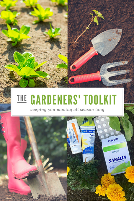 TheInspiredHome.org // The Gardener Toolkit: 3 Budget Friendly Tools to Help You in the Garden and 3 essential items to keep you moving all season long from Boiron Canada.