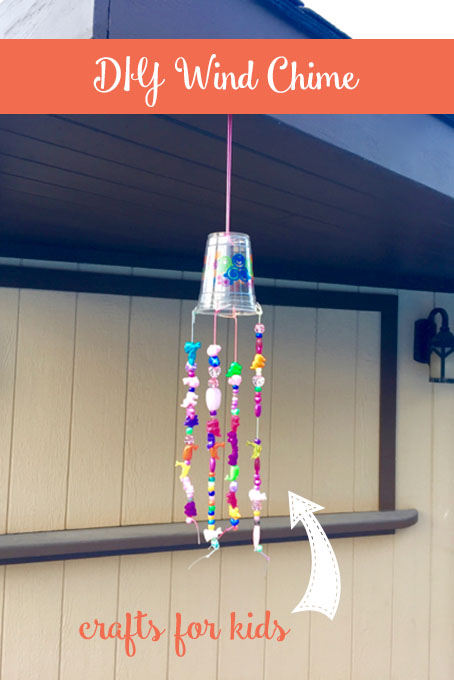 Diy Beaded Wind Chime The Inspired Home