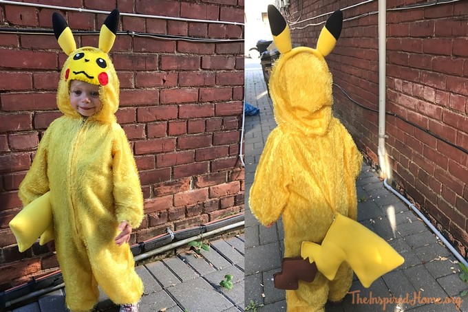 theinspiredhome.org // DIY Pikachu Costume Tail