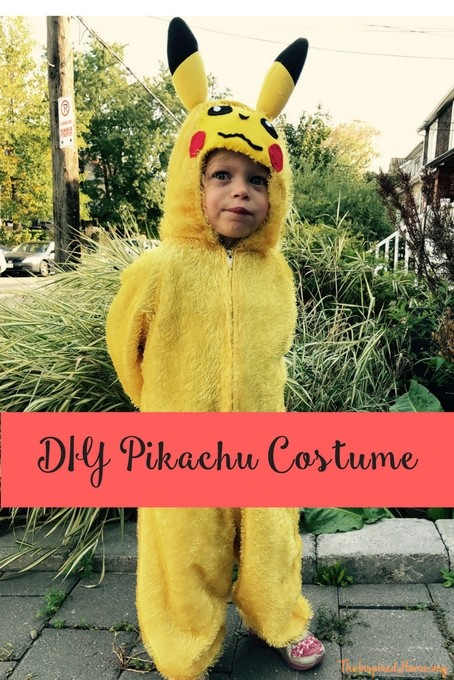 theinspiredhome.org // DIY Pikachu Costume