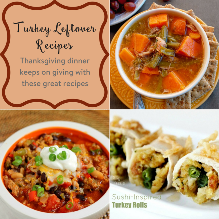 TheInspiredHome.org // Turkey Leftover Recipes