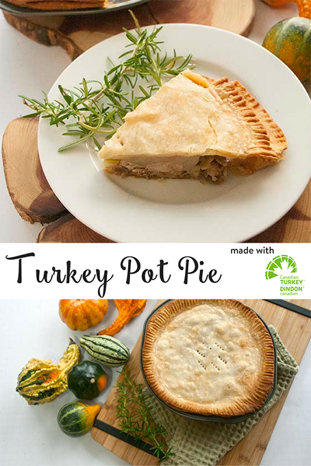 TheInspiredHome.org // Easy Turkey Pot Pie. A make-ahead pot pie that you can freeze for later with your leftover turkey.