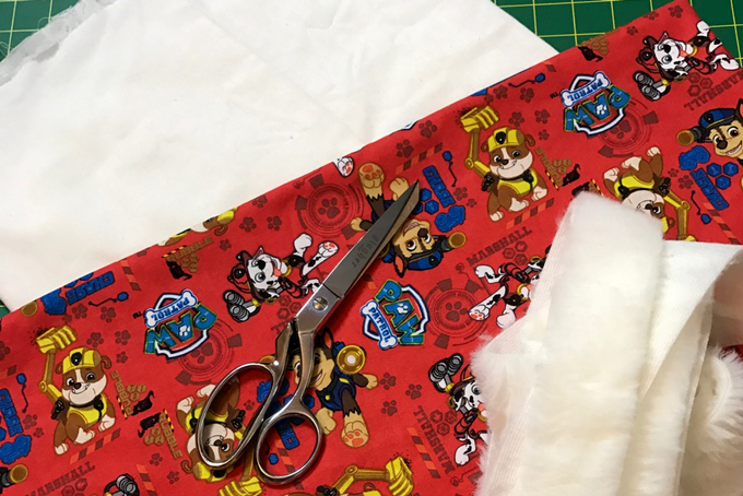 TheInspiredHome.org // DIY Paw Patrol Stocking Materials