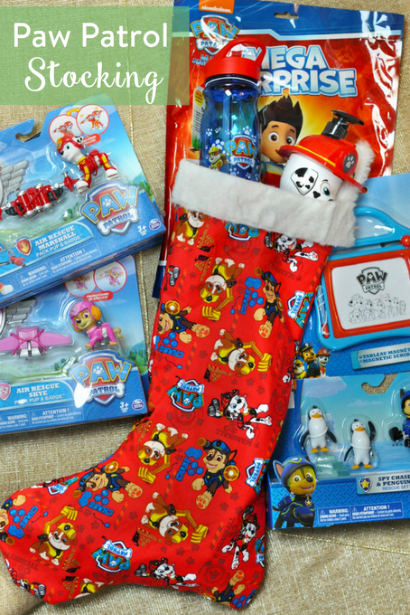 TheInspiredHome.org // Paw Patrol Stocking