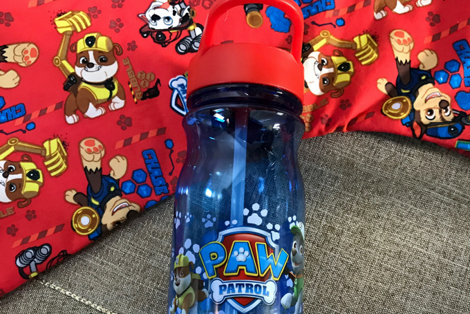 TheInspiredHome.org // Paw Patrol Bottle