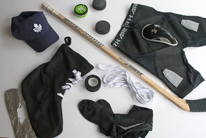 TheInspiredHome.org // Hockey Stocking Stuffers. Stocking Stuffers for the Hockey Fan in your life made easy!