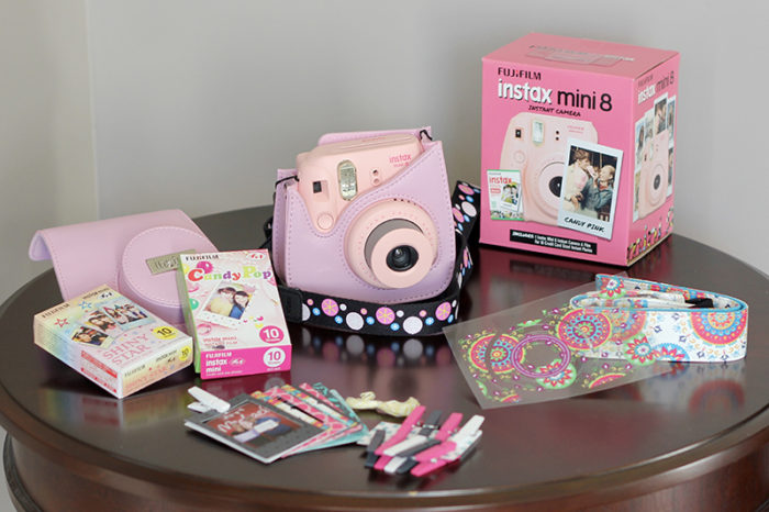 TheInspiredHome.org // Teen Girl Stocking Stuffer Ideas - a Fujifilm Instax Mini makes a fantastic teen stocking stuffer idea for Christmas!