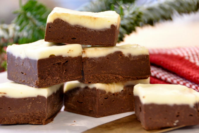 The Inspired Home // Easy Holiday Baking on a Budget Fudge