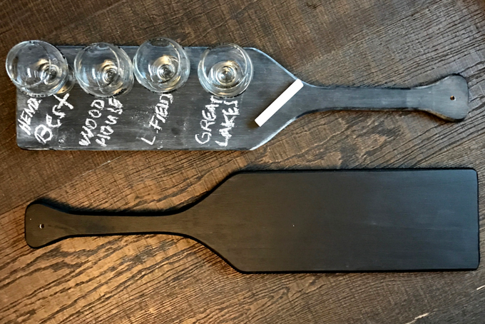 TheInspiredHome.org // DIY Beer Flight Paddle
