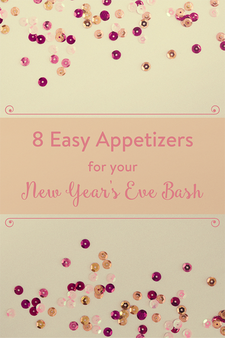 TheInspiredHome.org // 8 Easy Appetizers for your New Years Eve Bash