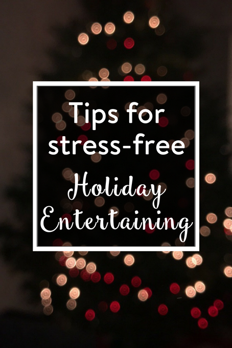 The Inspired Home // stress-free holiday entertaining featured