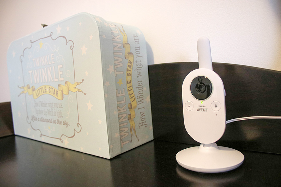 TheInspiredHome.org // Philips Avent Video Baby Monitor