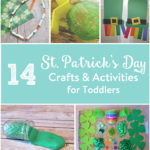 TheInspiredHome.org // St Patrick's Day Crafts & Activities for Toddlers