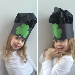 St Patricks Day Hat: Clover Hat
