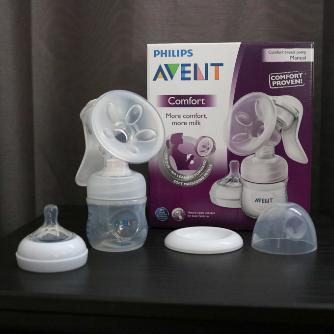 TheInspiredHome.org // Avent Comfort Manual Breast Pump