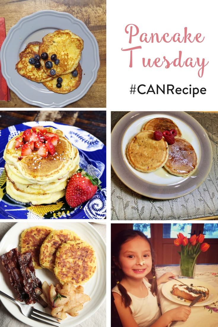 TheInspiredHome.org // Pancake Tuesday #CANRecipe