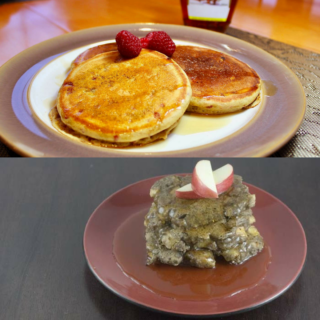 Easy Pancakes 2 Ways