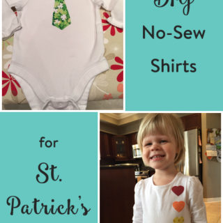 DIY St. Patricks Day Shirts