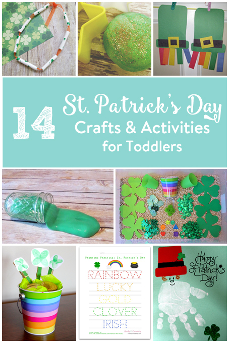 TheInspiredHome.org // 14 St. Patrick's Day Crafts & Activities for Toddlers