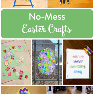 No-Mess Easter Crafts for Kids