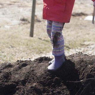 Risky play & raising kids that aren't afraid to get dirty