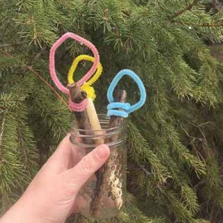 Nature Inspired Bubble Wands