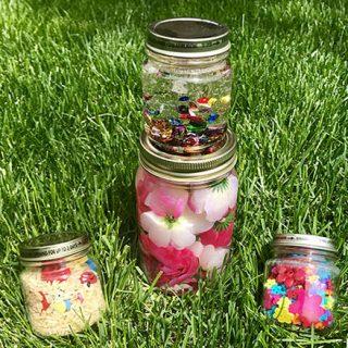 Spring Sensory Bottles