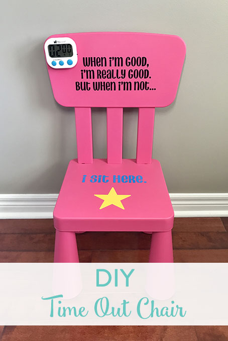 DIY Time Out Chair & DIY Time Out Chair u2022 The Inspired Home