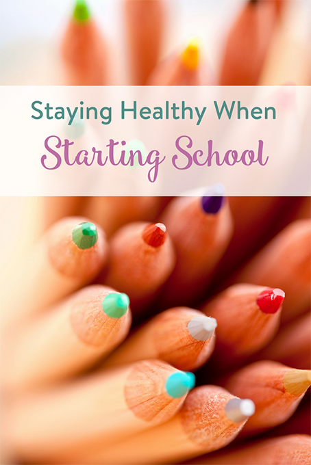 TheInspiredHome.org // Staying Healthy When Starting School