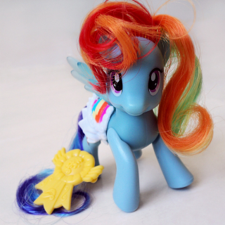 Rainbow Dash Costume with DIY Wings